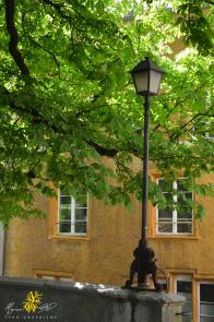 Bienne, basse-ville, lampadaire
