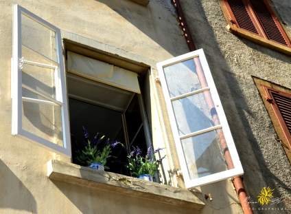 Bienne, basse-ville, fenêtre