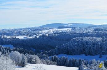 Hiver, Franches-Montagnes