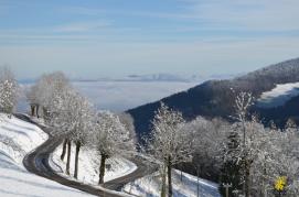 Hiver, Vallée de Delémont
